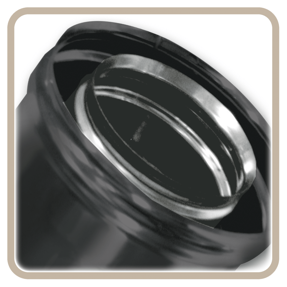 BIVENT INOX – INOX BLACK